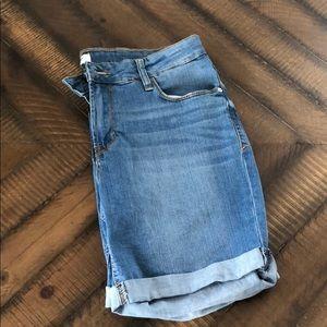 Kensie Bermuda Denim Shorts